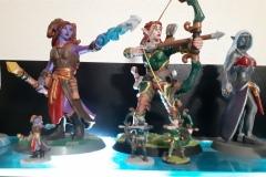 Zleva: Valindra, Myrawen, Vyeris
