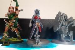 Zleva: Myrawen, Vyeris, Brunhilda
