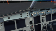 FSX A320 LEMD->LKPR Madrid->Praha