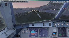 FSX LOWS LOWI Clear Weather