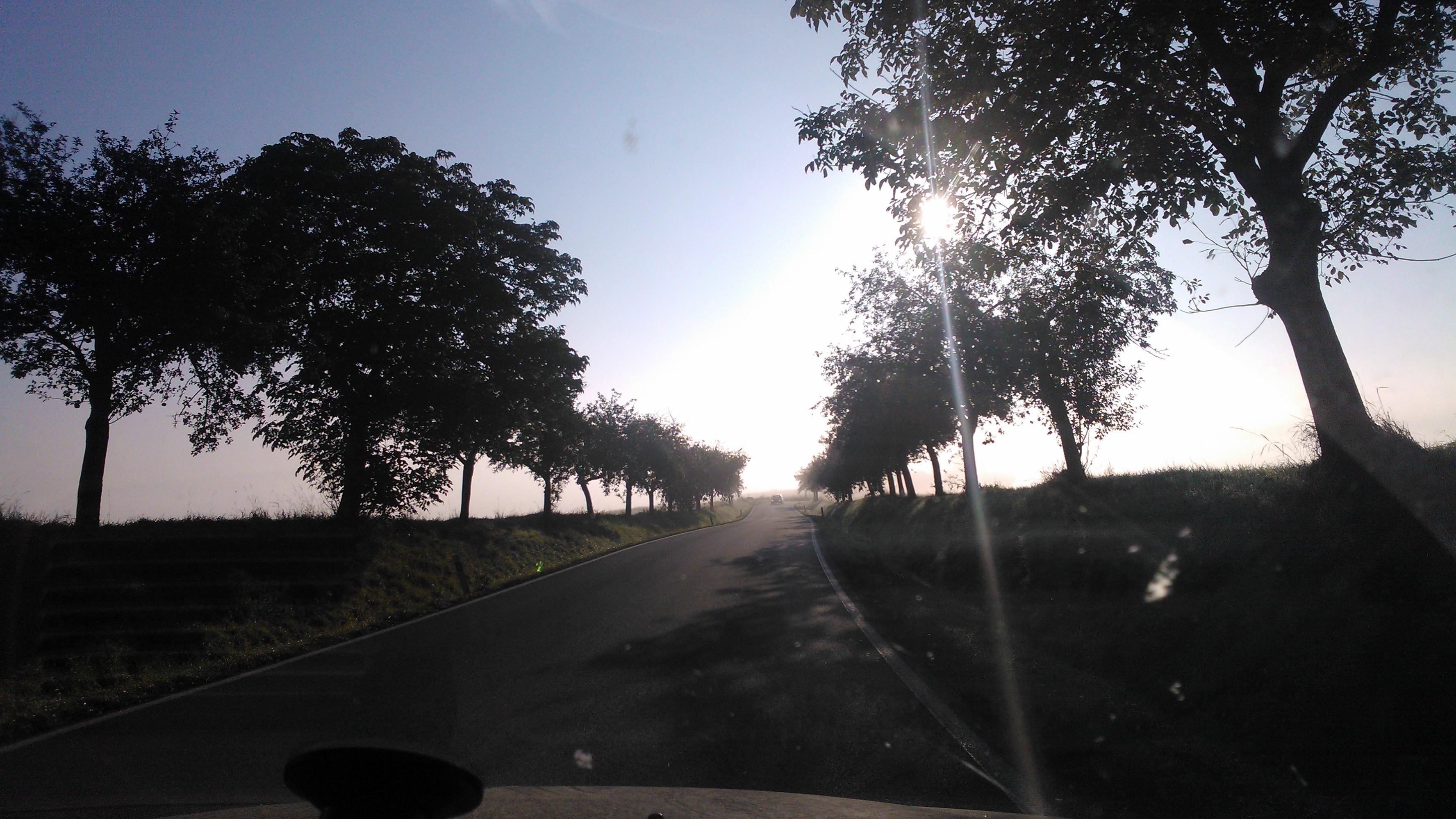 Mlžná cesta do Rožmitálu :-)